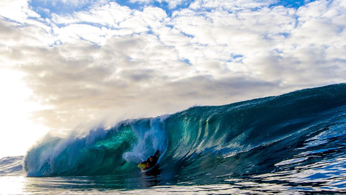 Dave Drews. East Coast, Austrália. ©Blake Parker