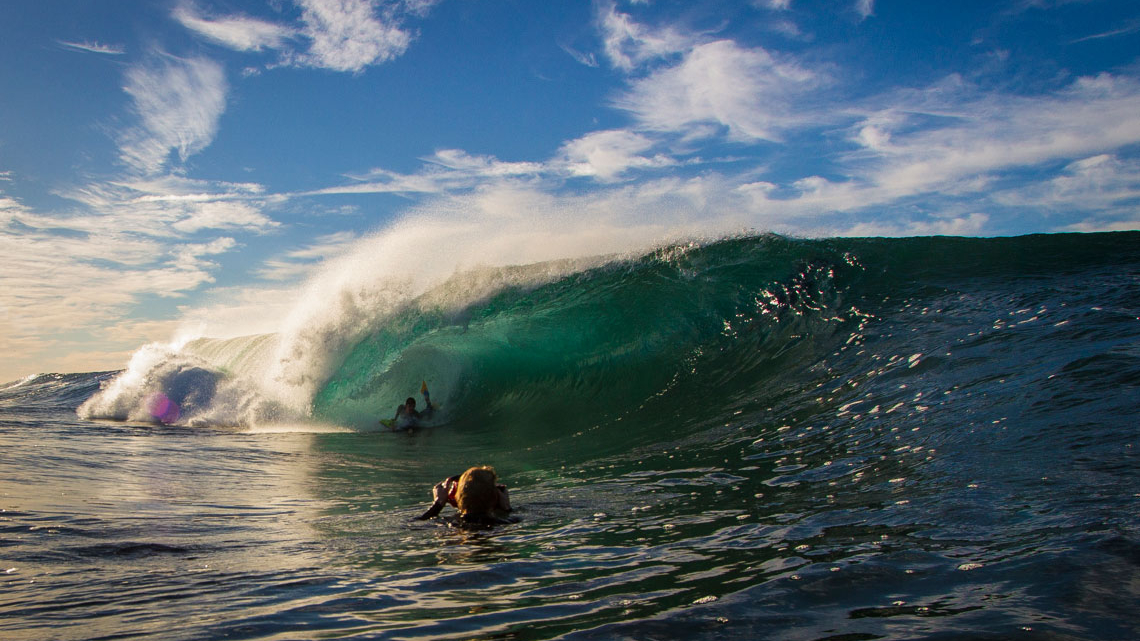 Toby Read. East Coast, Austrália. ©Blake Parker